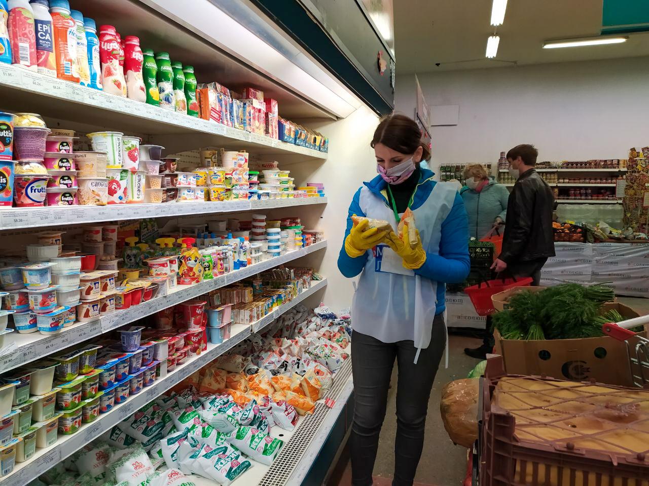 Жительницам Первомайска помогли в рамках акции «Рука помощи»