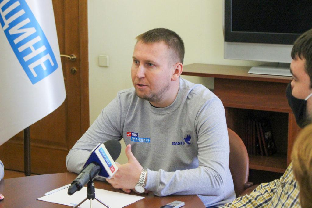 Денис Мирошниченко принял участие в акции «Рука помощи» 2