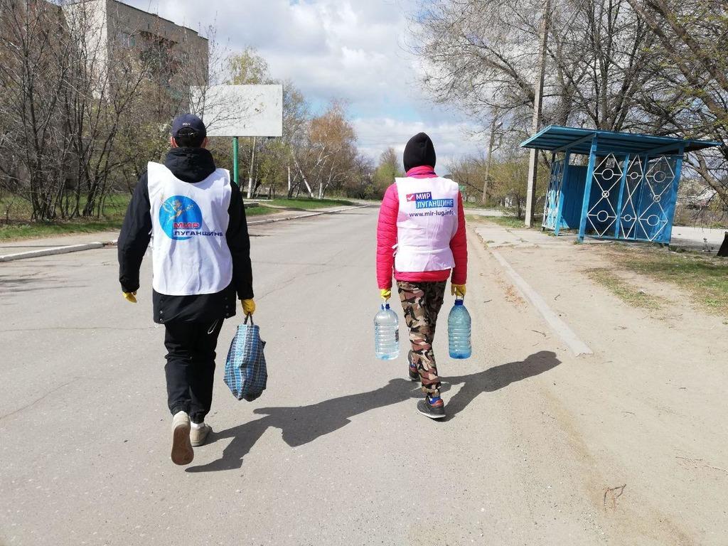 В Стаханове помогли жителям в рамках акции «Рука помощи» 2
