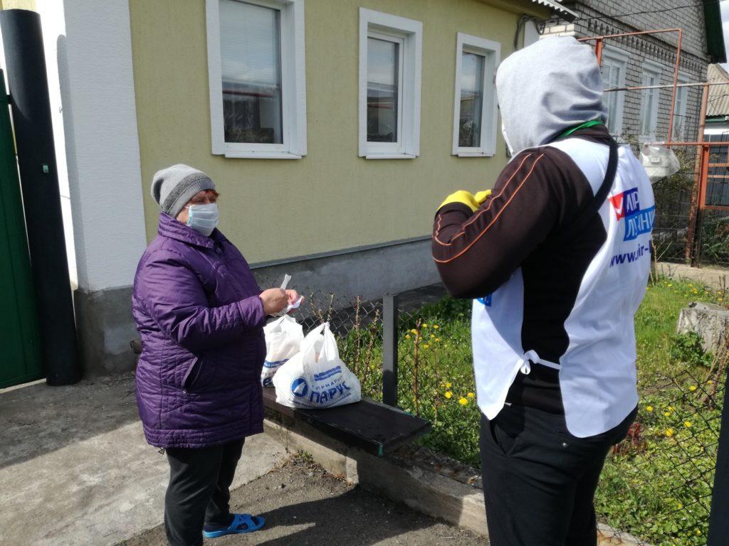 Волонтёры помогли жительнице Брянки 1