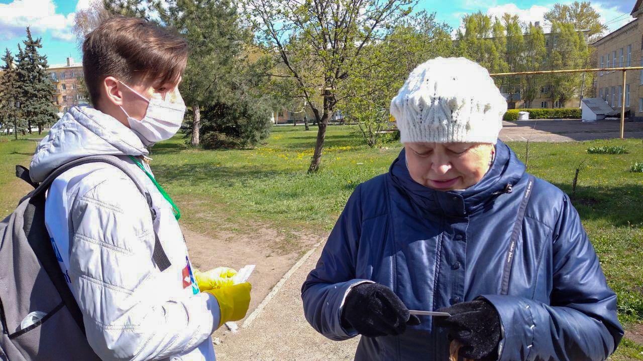 В Кировске и Красном Луче жителям города рассказали об акции «Стоп наркотикам!»