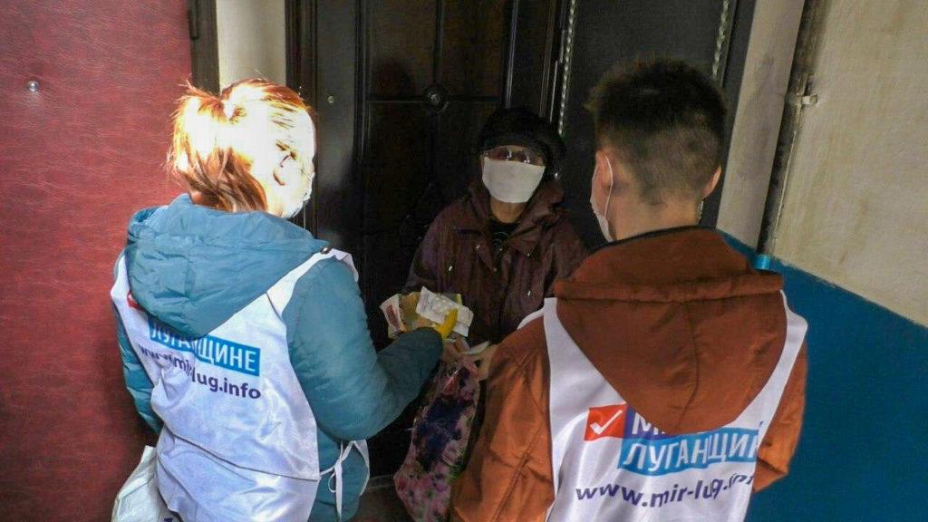 Волонтёры Кировска помогли жителям, находящимся на самоизоляции 4