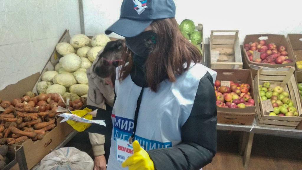 Жительнице Ирмино помогли в рамках акции «Рука помощи» 2