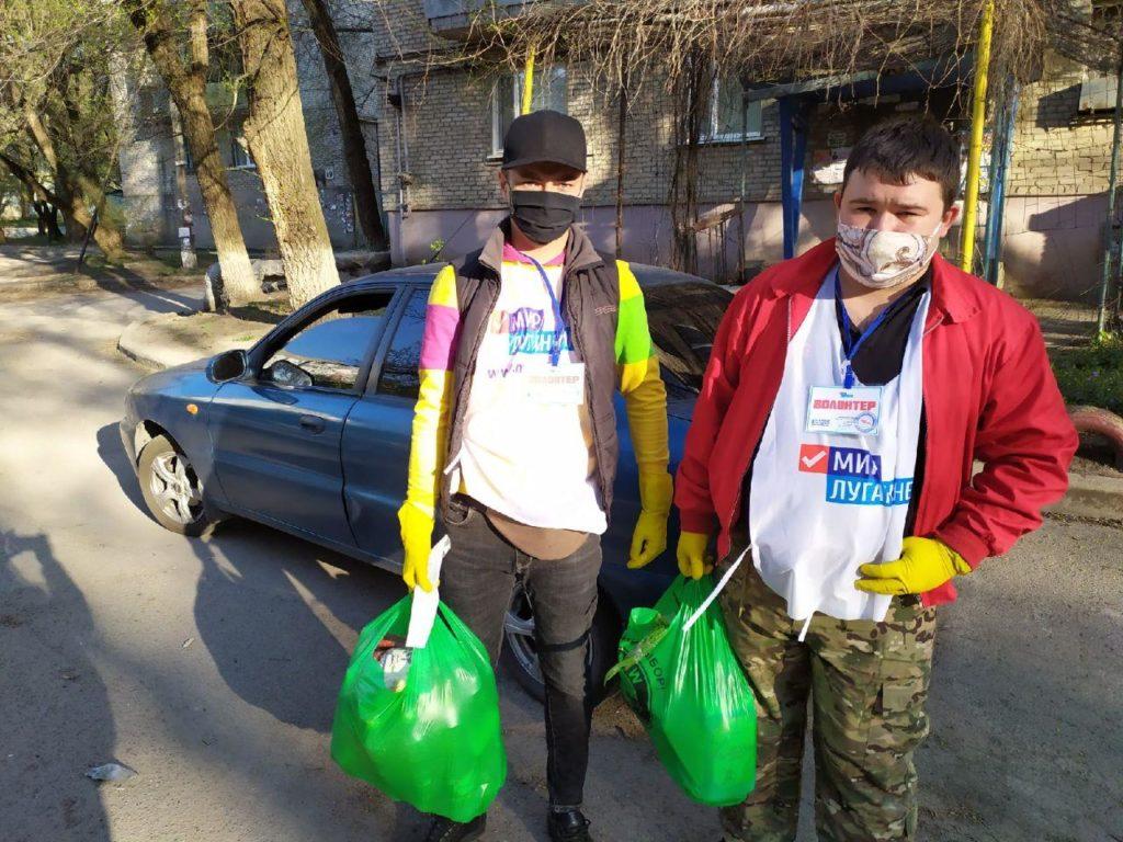 За два дня активисты ОД «Мир Луганщине» помогли жителям Луганска