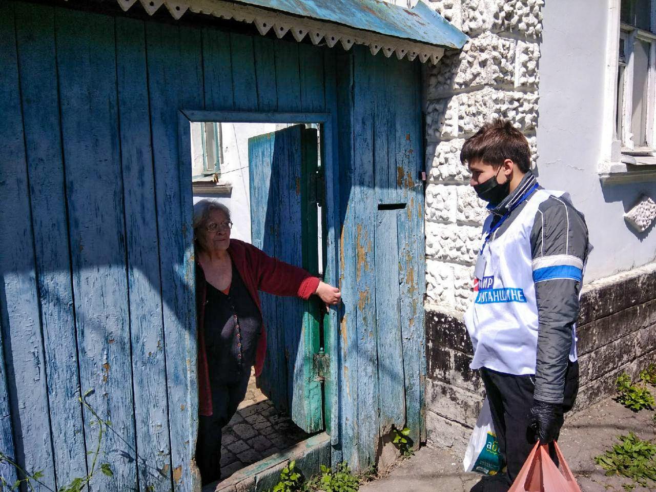 Активисты ОД «Мир Луганщине» помогли девяти жителям Луганска 1