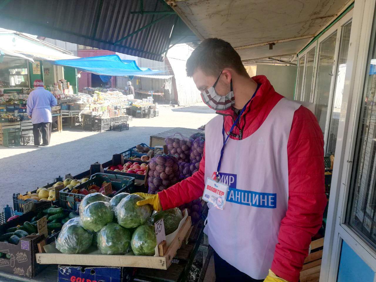 Активисты проекта «Дружина» помогли жительнице в рамках акции «Рука помощи» в Стаханове 3