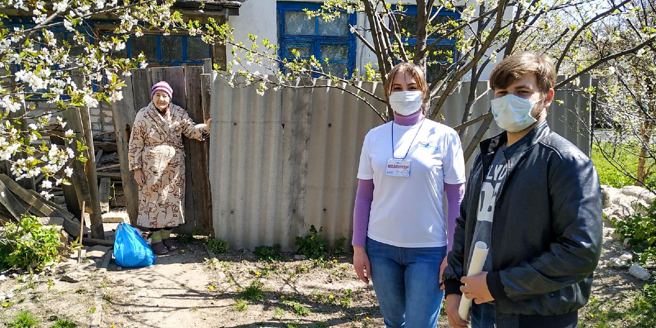 Жители Славяносербска, попавшие в трудную жизненную ситуацию, получили помощь от проекта «Волонтёр» 2