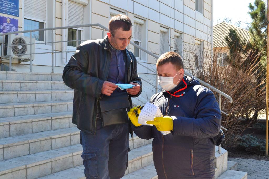 Активисты ОД «Мир Луганщине» проинформировали жителей ЛНР об акции «Рука помощи» 3