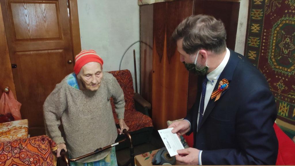 Ветеранов Великой Отечественной войны поздравили в Кировске 2