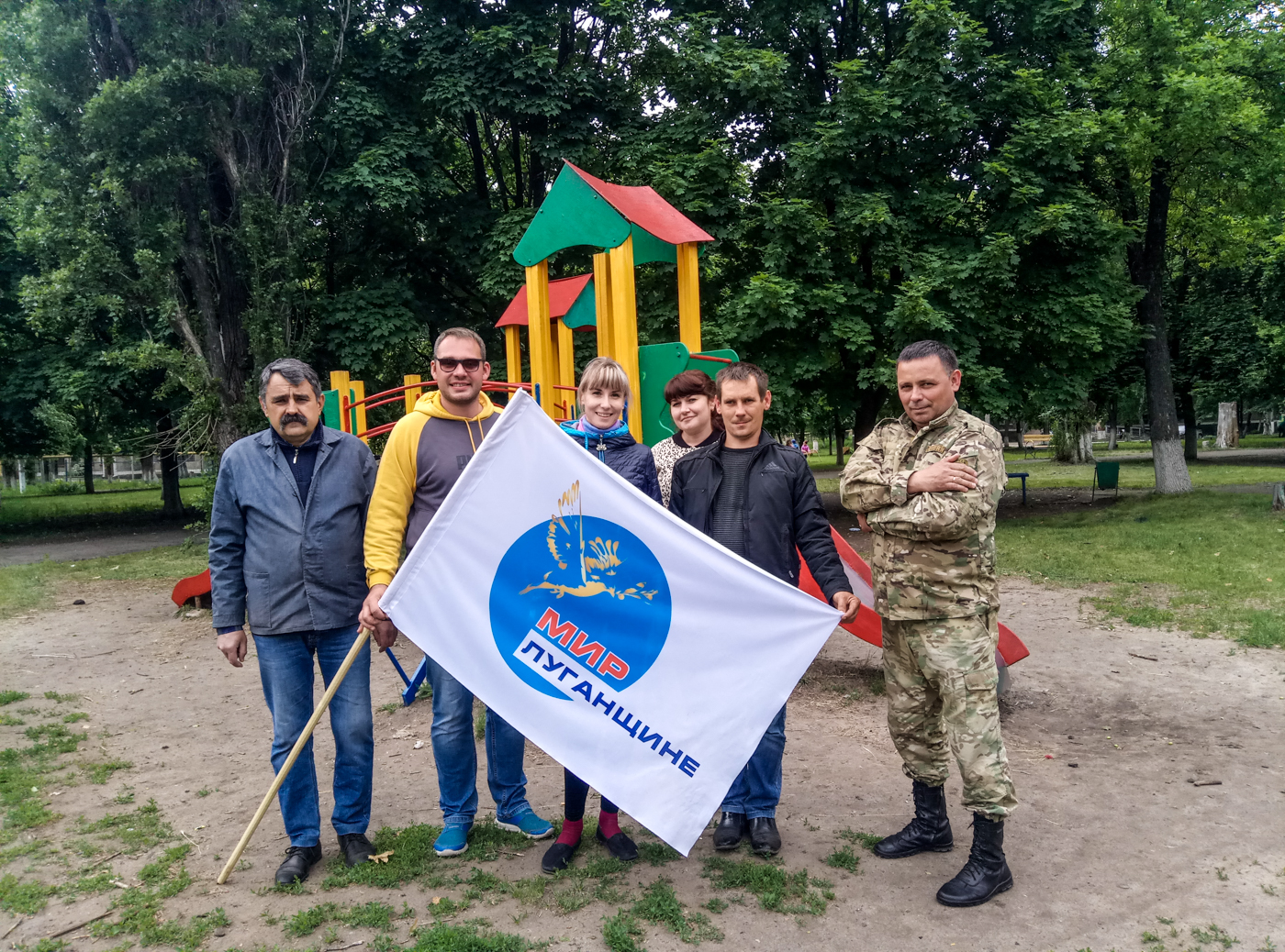 Активисты Суходольска приняли участие в субботнике 2