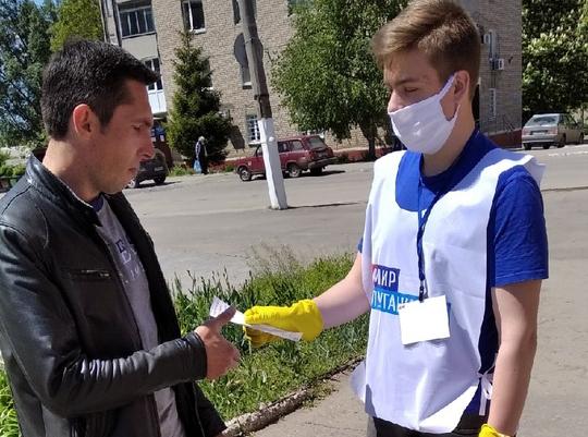 Жителям городов и районов ЛНР рассказали об акции «Рука помощи» 2