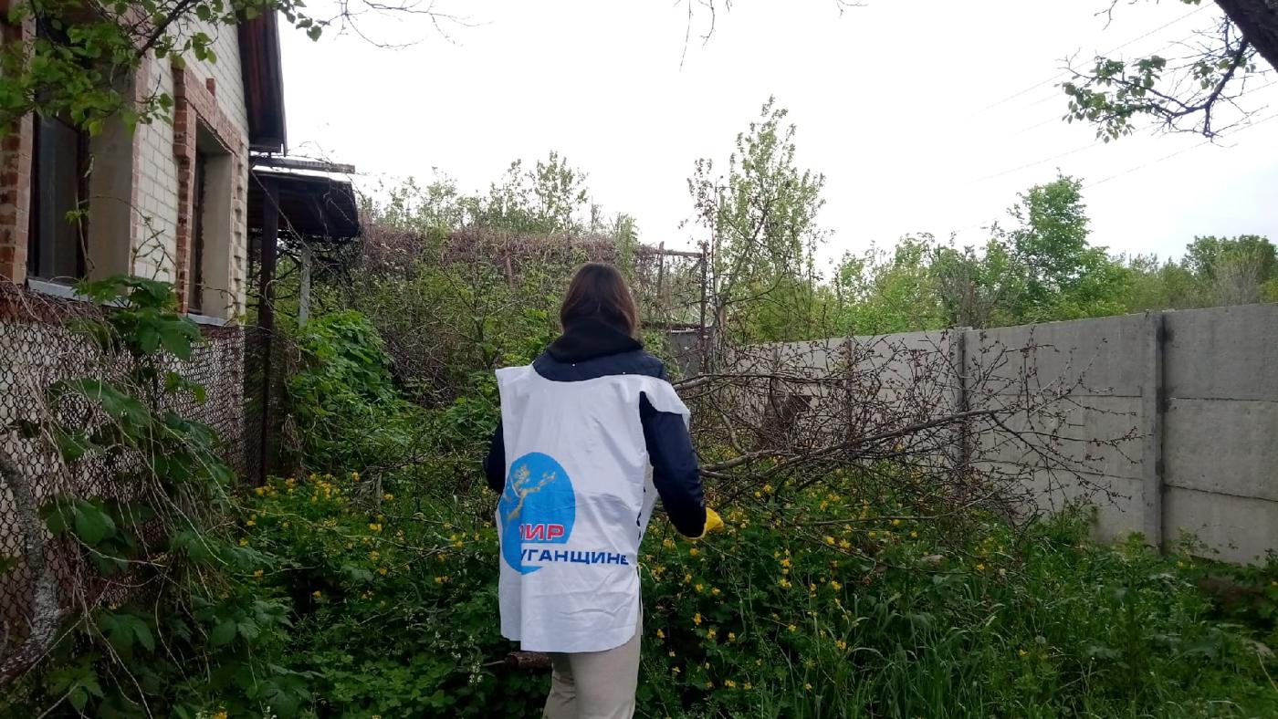 Активисты проекта «Молодая Гвардия» помогли Почётному гражданину Краснодона