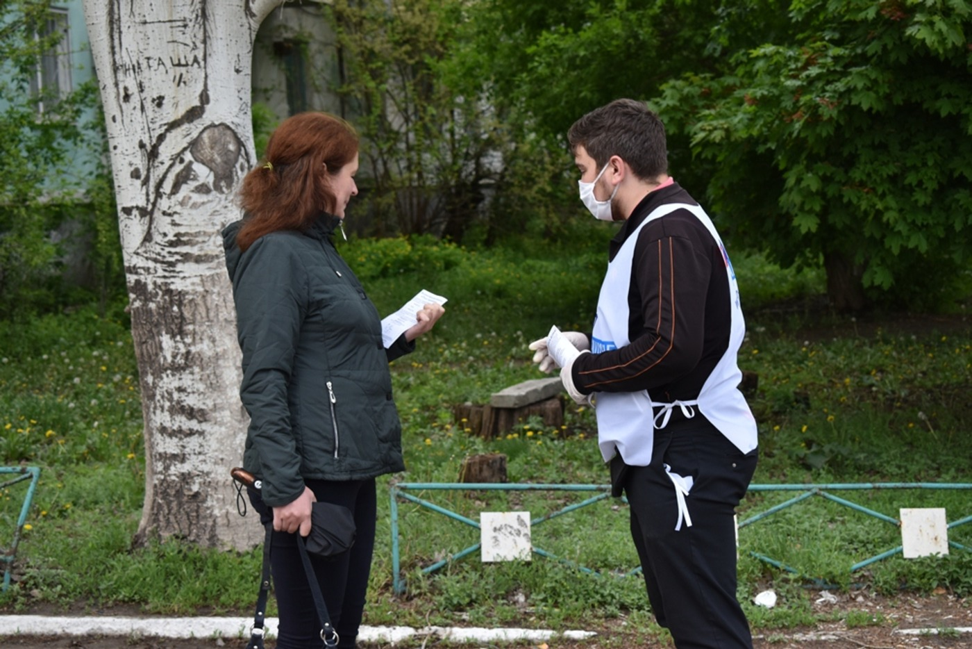 Жителей ЛНР проинформировали об акции «Рука помощи» 1