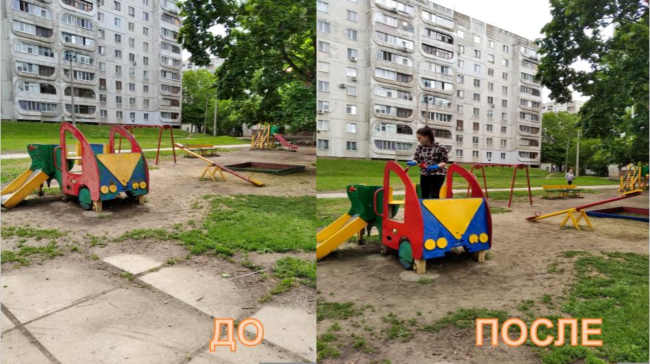 Луганские активисты ОД «Мир Луганщине» приняли участие в акции «Начни с детства» 2