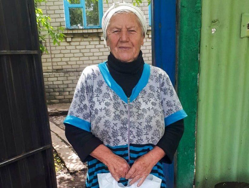 Жители посёлка Вергулевка получили помощь от проекта «Волонтёр» 3