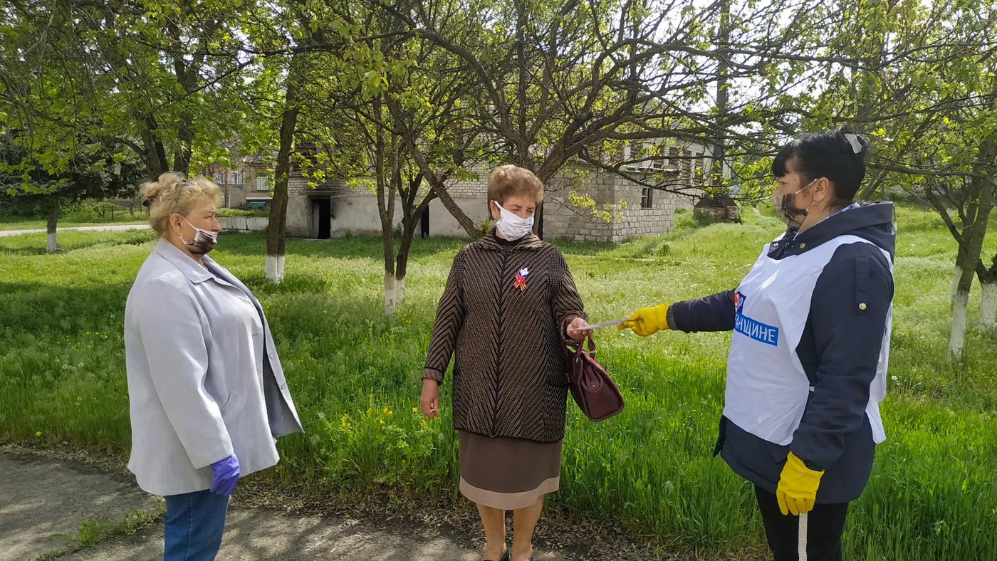 Жителям городов и районов ЛНР рассказали об акции «Рука помощи» 3