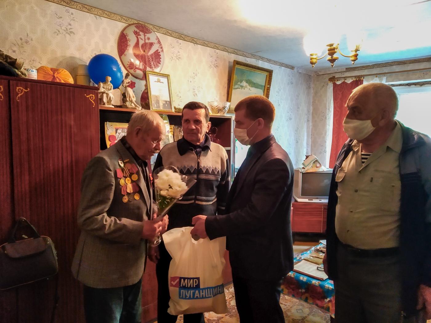 В Первомайске поздравили ветерана Великой Отечественной войны с 93-летием 1