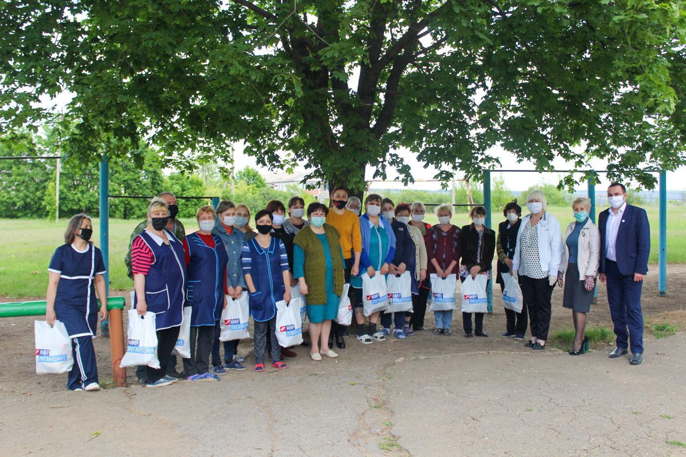 Жители прифронтовых территорий получили помощь от проекта «Волонтёр» 3