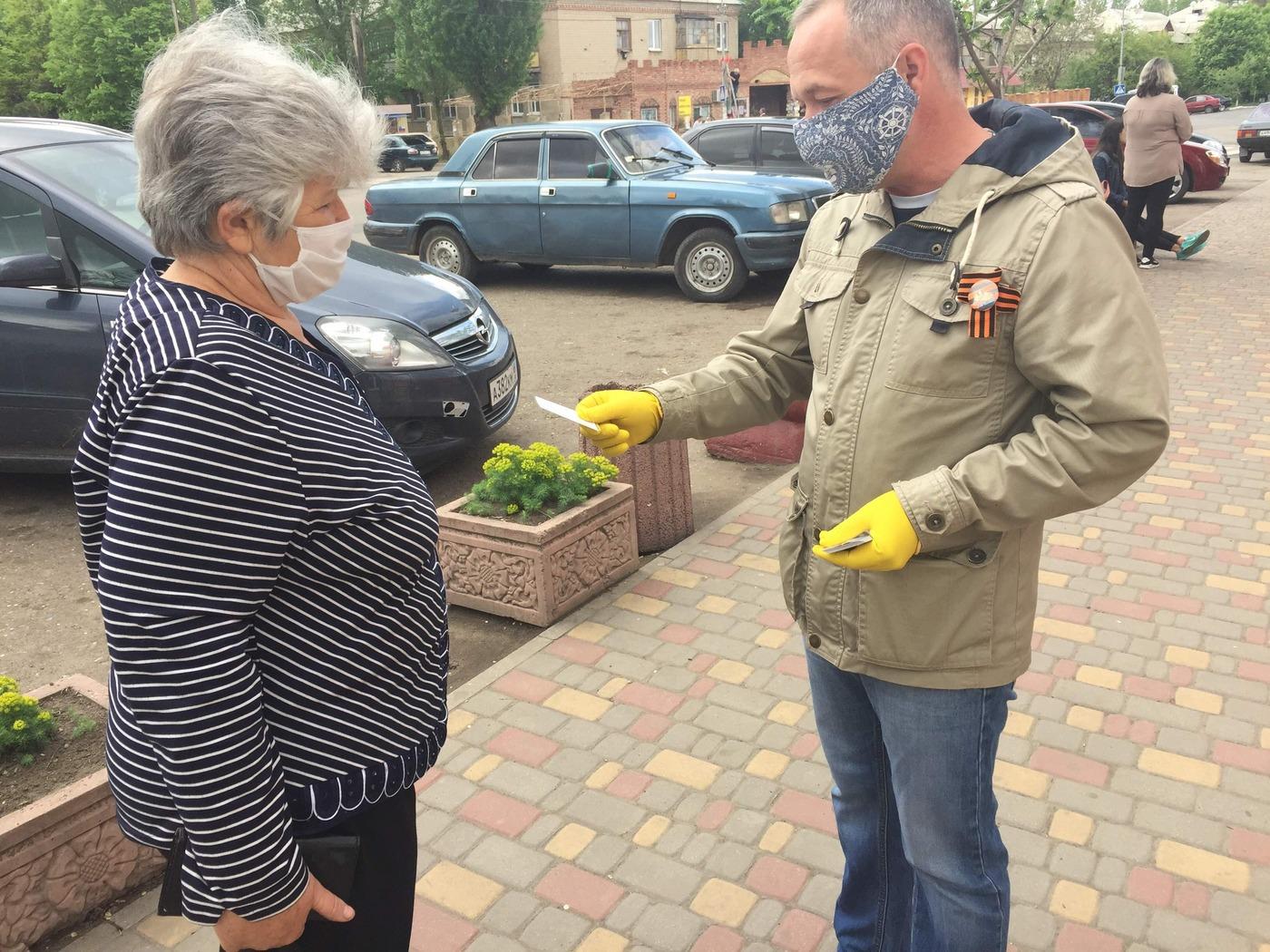 Жителям Лутугино рассказали об акции «Стоп наркотикам!»