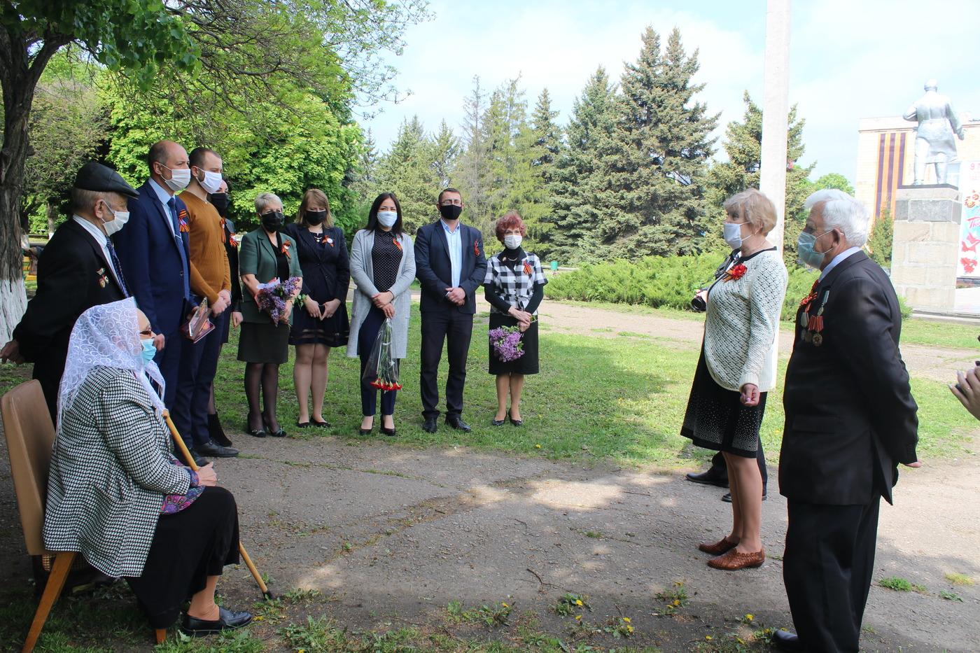 В Славяносербске увековечили память погибшего героя в Великой Отечественной войне 1