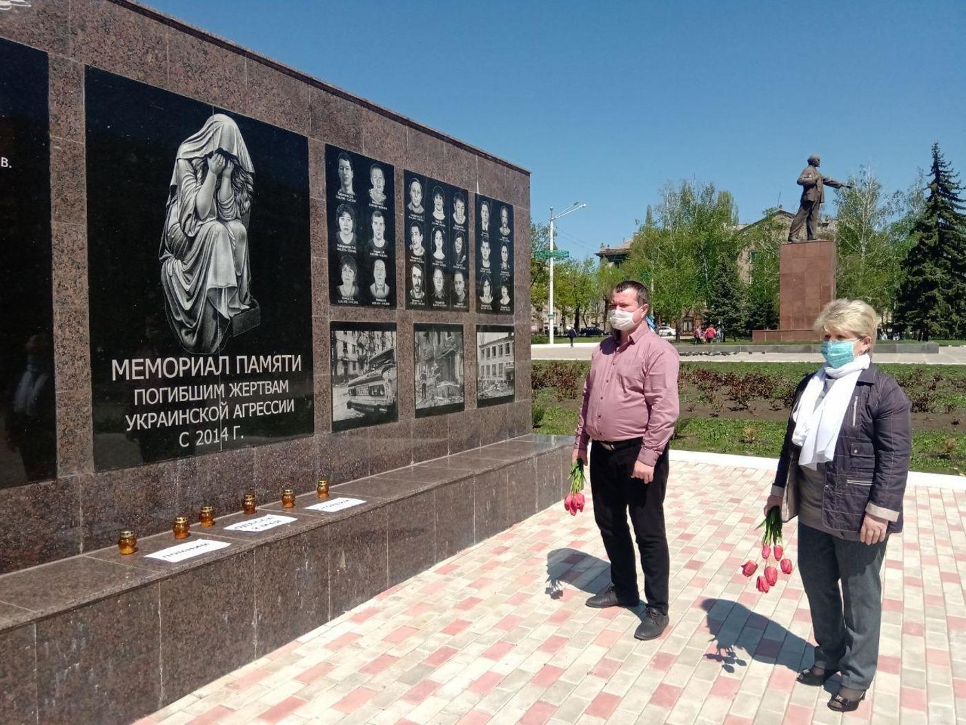 В ЛНР почтили память жертв трагедии в одесском Доме профсоюзов