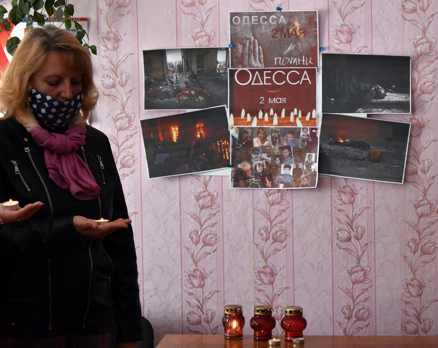 В Брянке прошла акция памяти «Одесса, мы помним!» 1