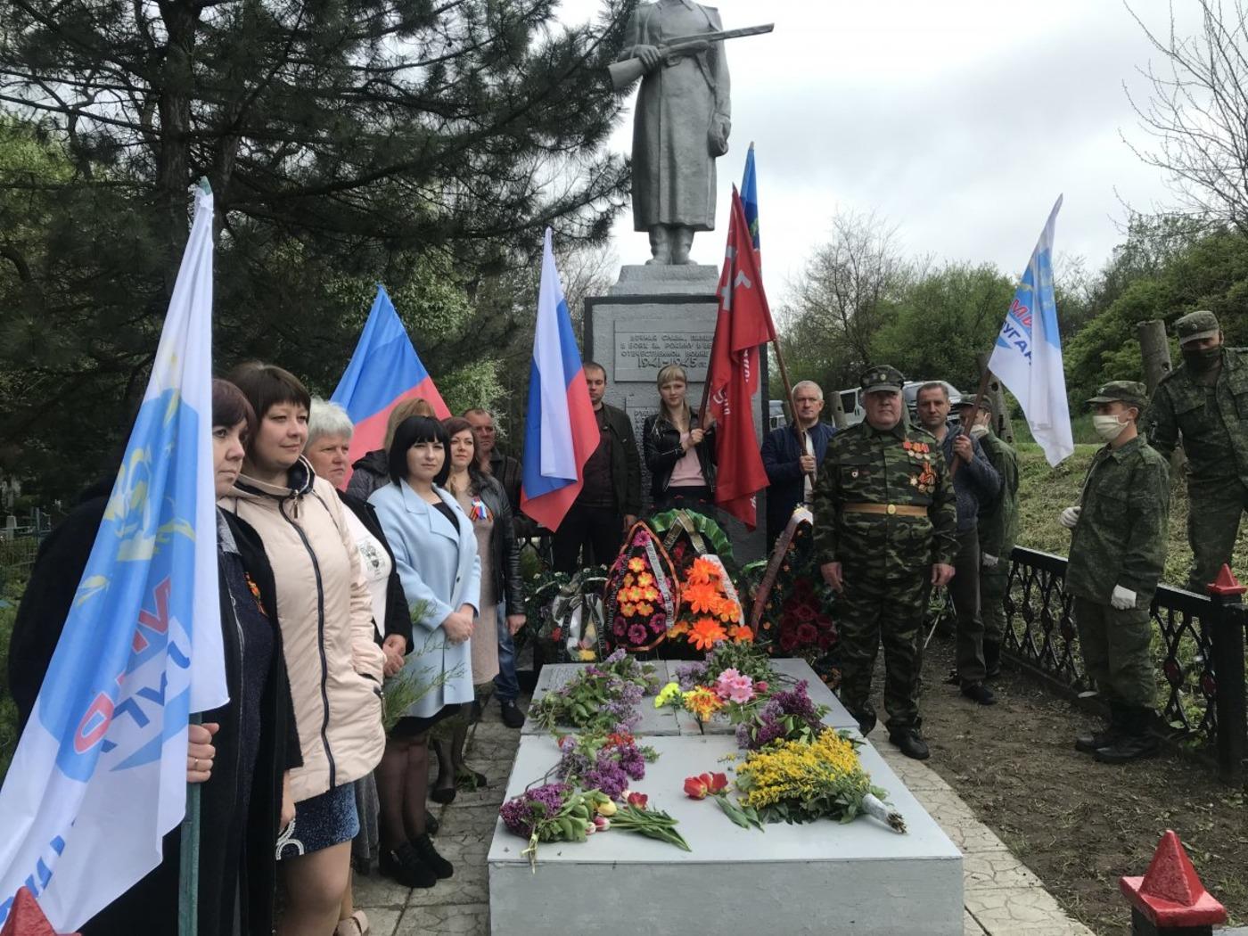 В городах и районах республики почтили память погибших в годы Великой Отечественной войны 9