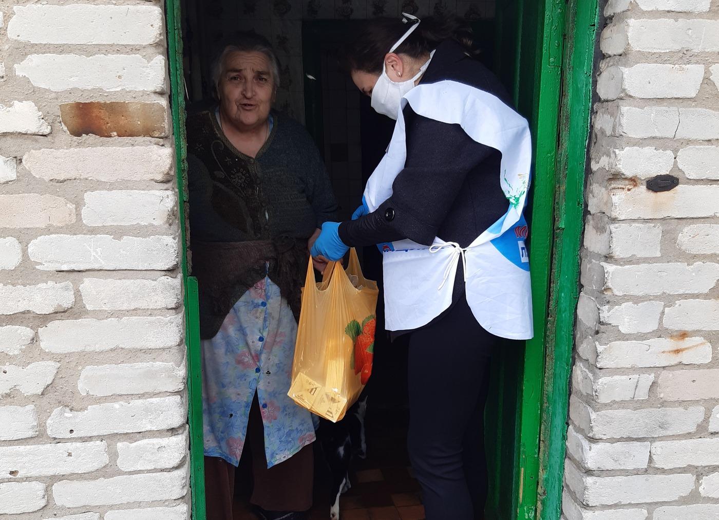 Жительнице посёлка Чернухино помогли в рамках акции «Рука помощи»