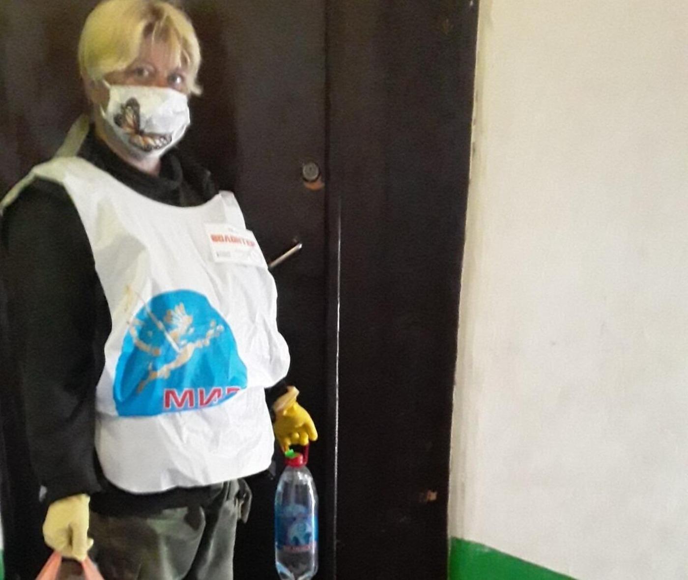 Волонтёры помогли жителю посёлка Фащевка в рамках акции «Рука помощи»