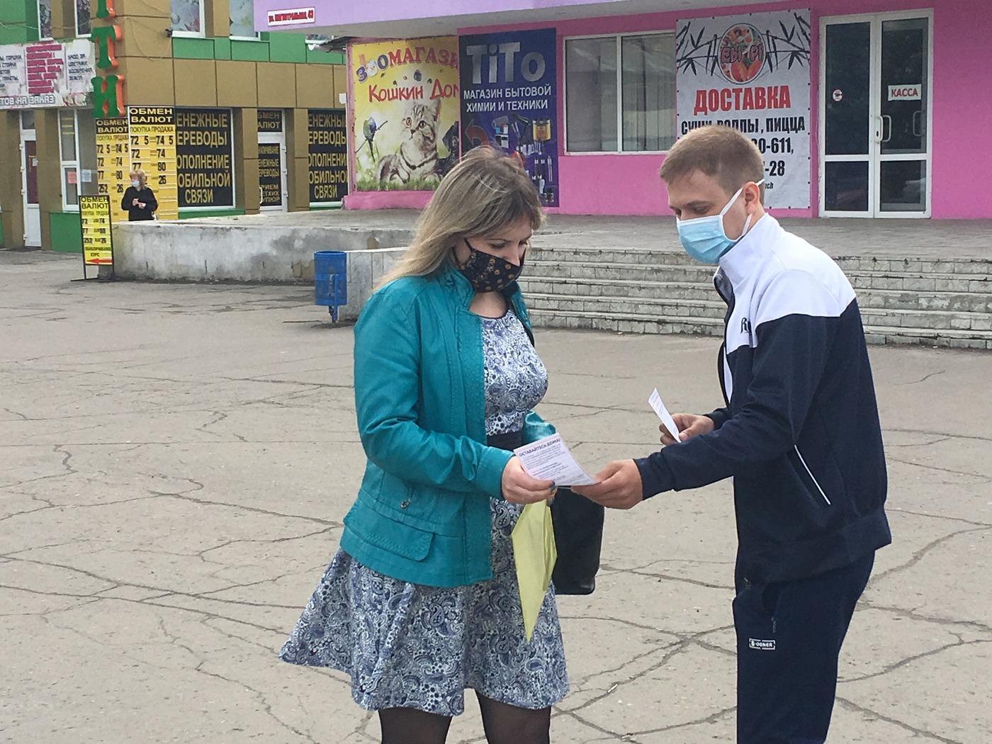 Жителей ЛНР проинформировали об акции «Рука помощи» 3