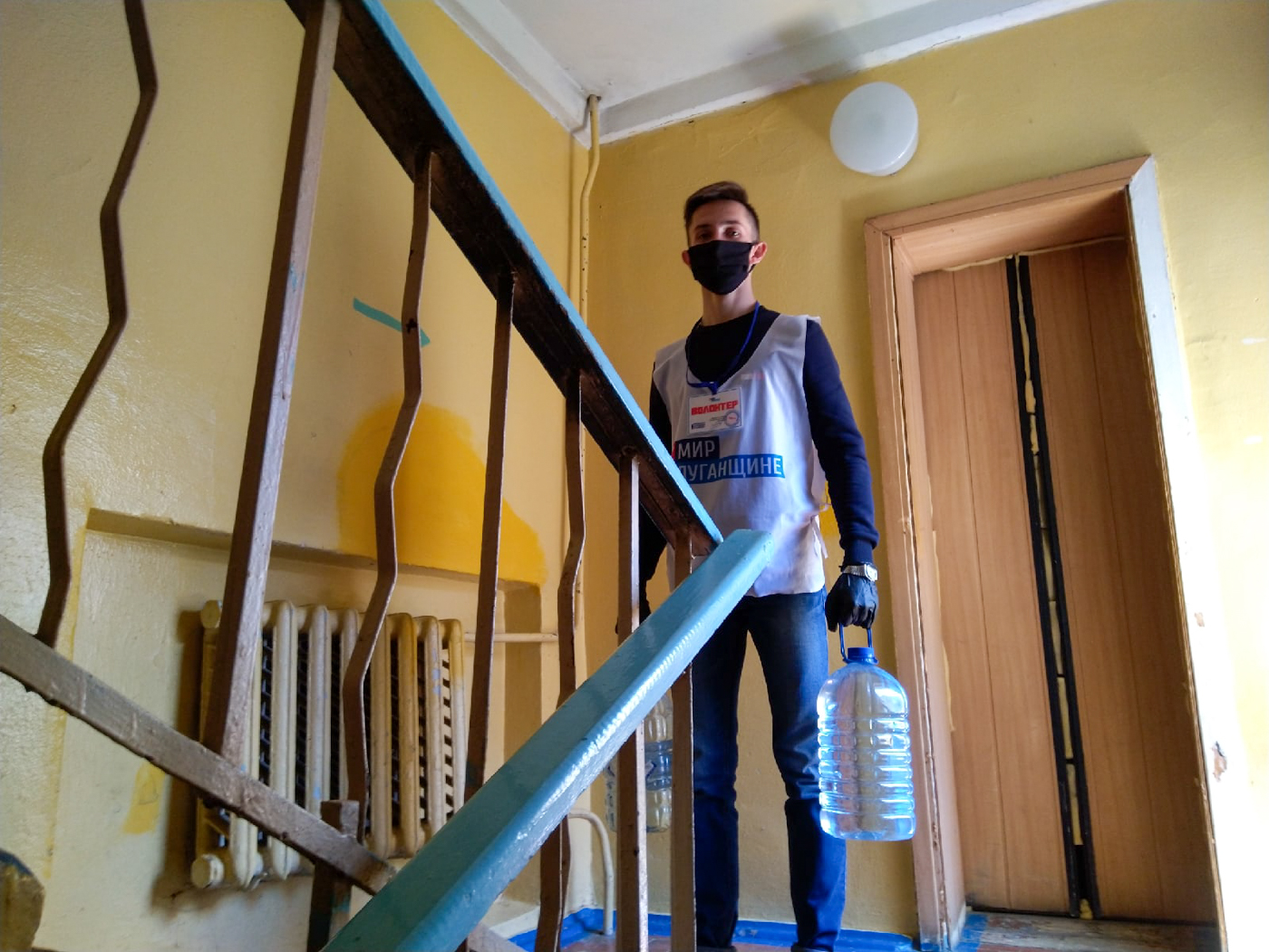 Волонтёры из Луганска помогли 26 гражданам на самоизоляции 2