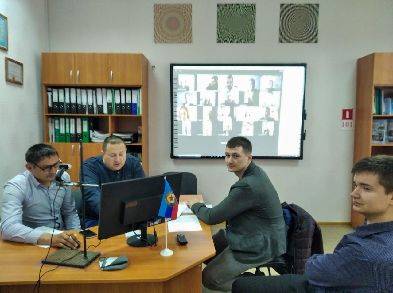 Луганские активисты ОД «Мир Луганщине» приняли участие в вебинаре «#МойВыбор»