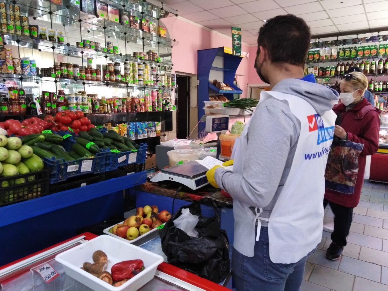 За неделю волонтёры акции «Рука помощи» помогли семерым жителям Первомайска