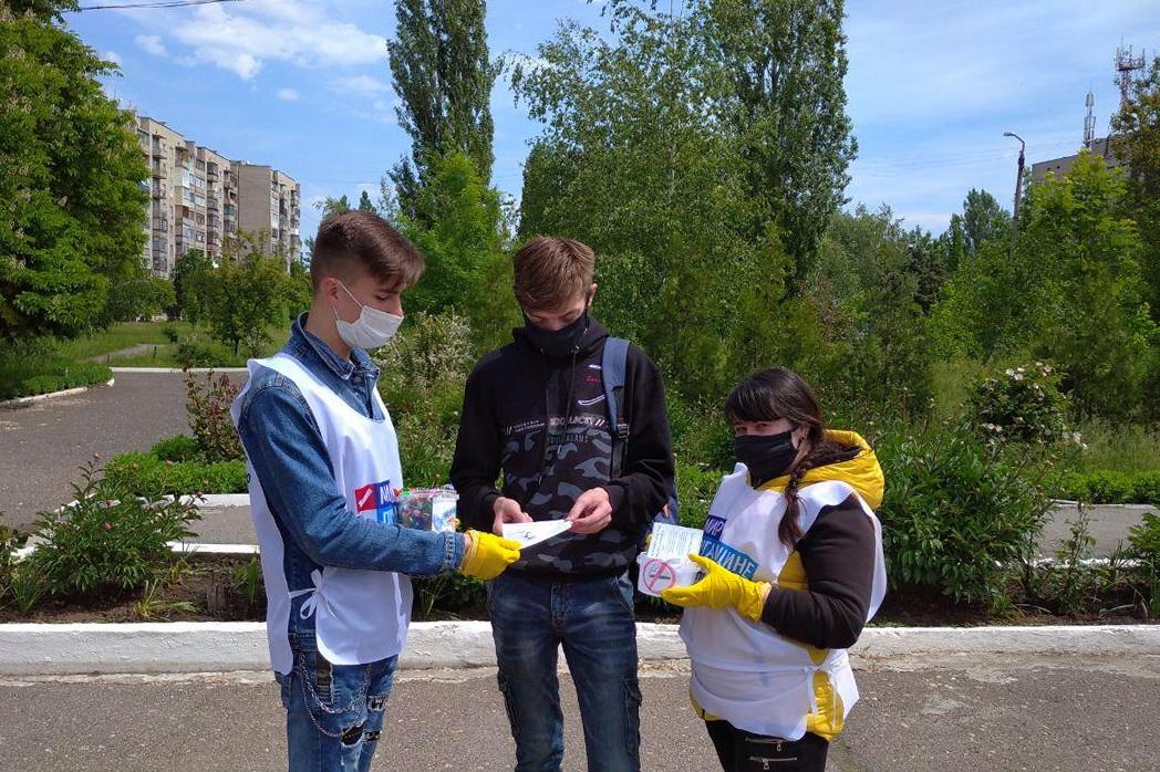 В Кировске, Стаханове и Красном Луче провели акции к Международному Дню без табака 1