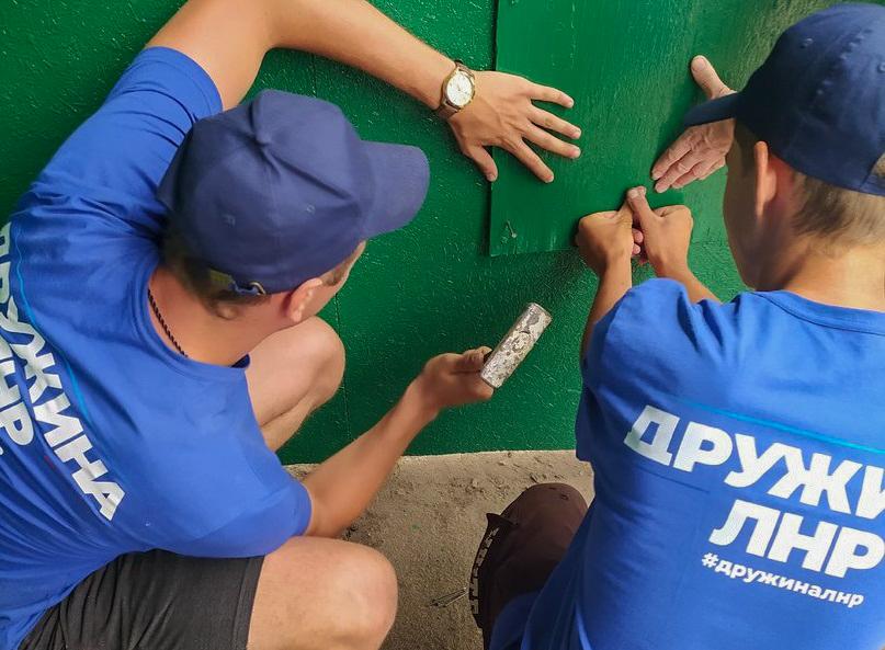 Активисты проекта «Дружина» отреставрировали остановку в Артёмовске