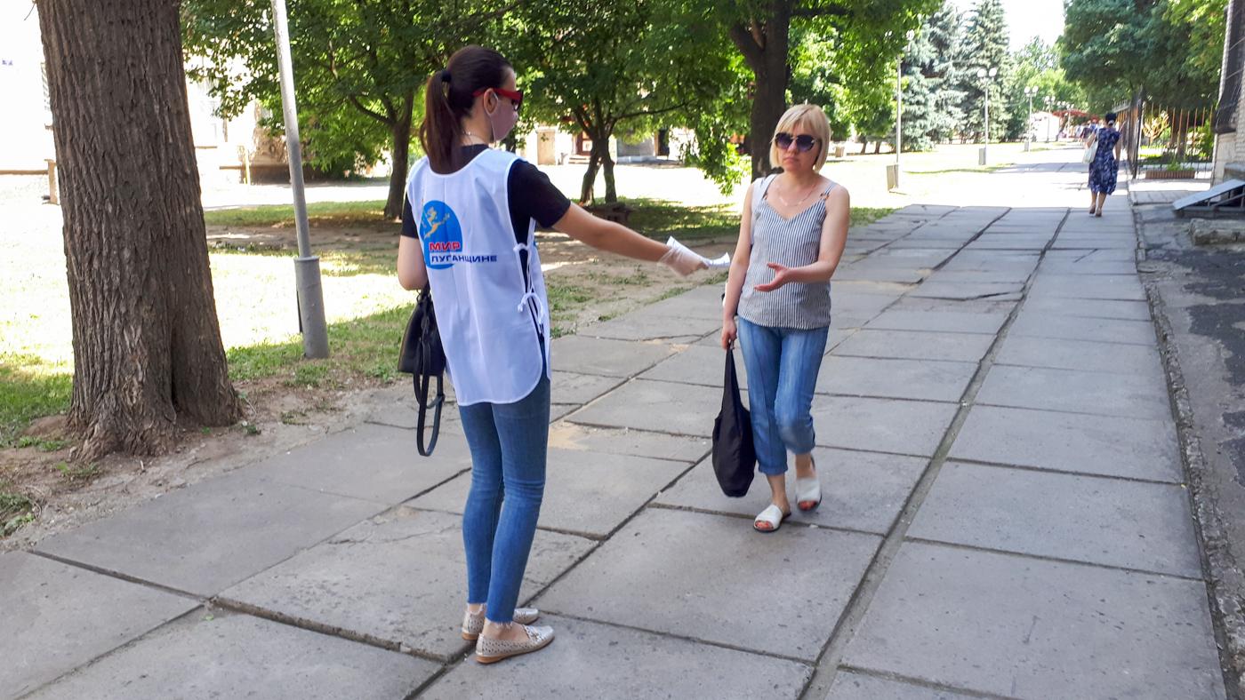 В Луганске напомнили жителям об акции «Стоп наркотикам!»