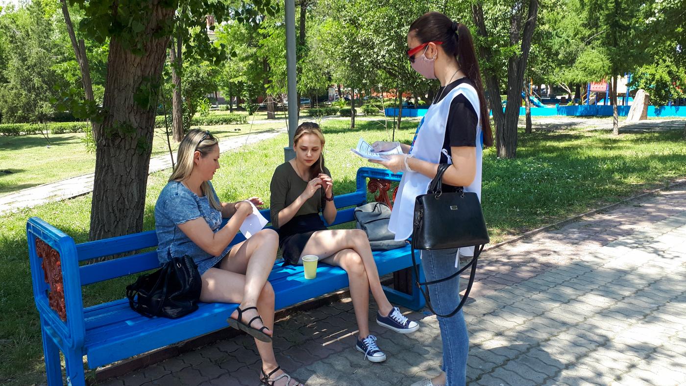 В Луганске напомнили жителям об акции «Стоп наркотикам!» 1