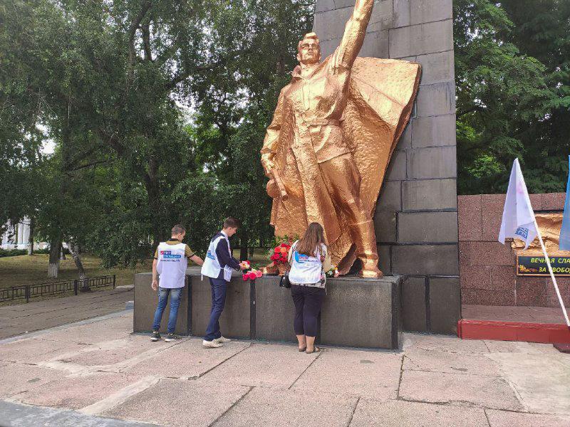 В Кировске активисты почтили память погибших в Великой Отечественной войне