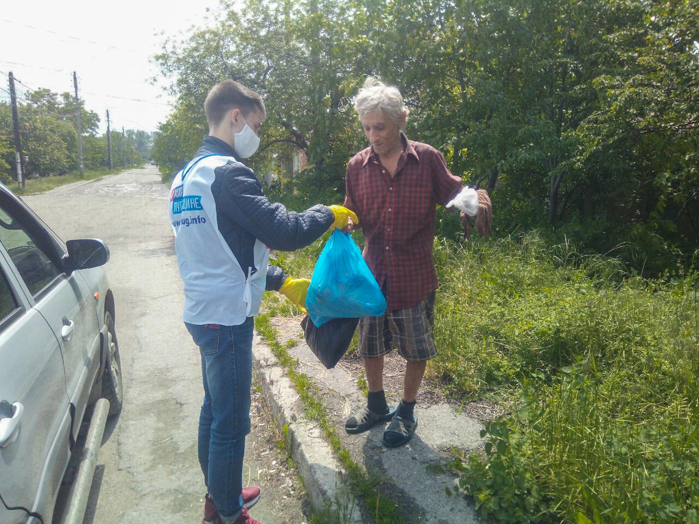 Активисты ОД «Мир Луганщине» за неделю помогли 70 жителям ЛНР 3