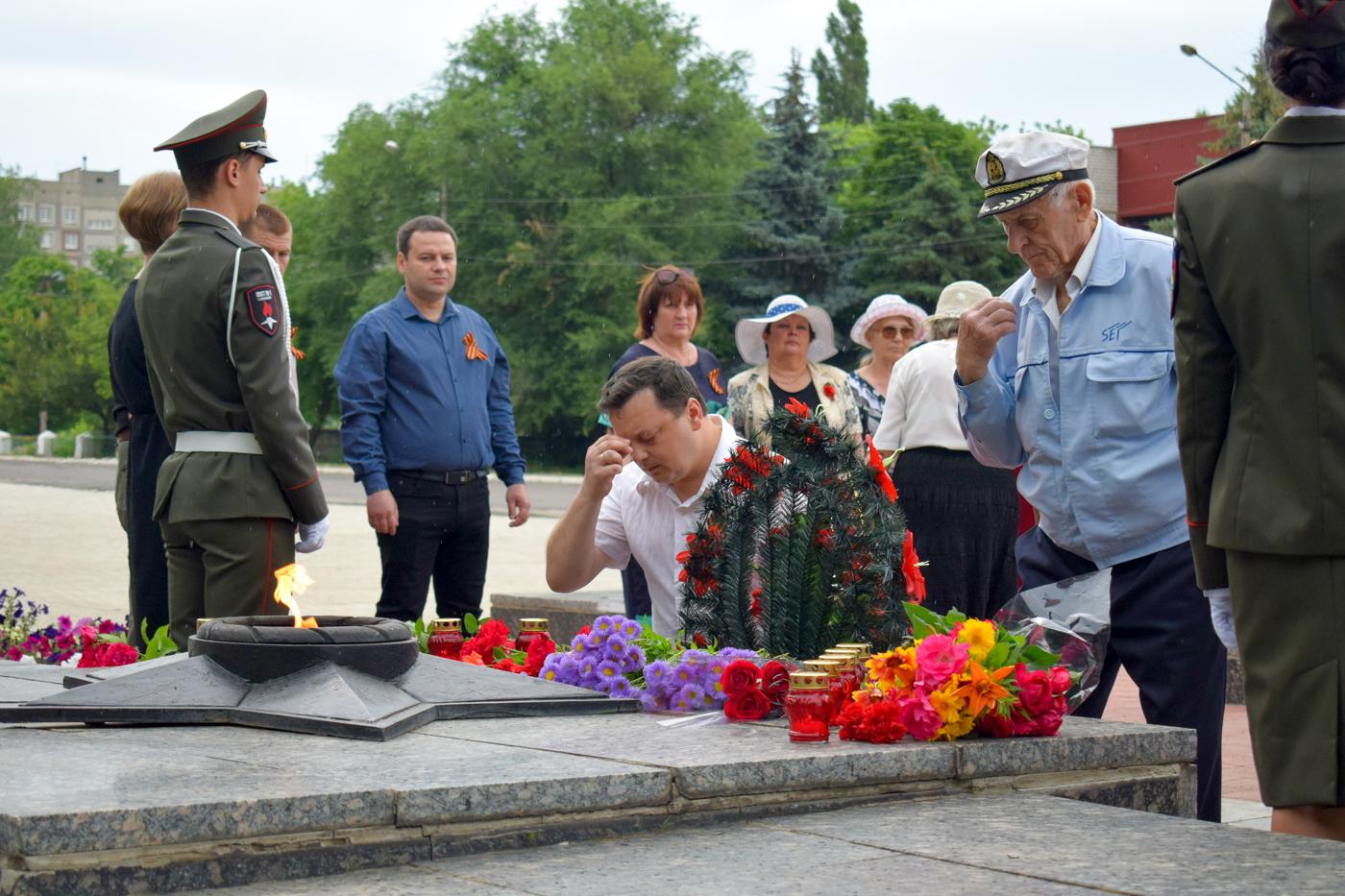 Церемония возложения цветов состоялась в Первомайске 1