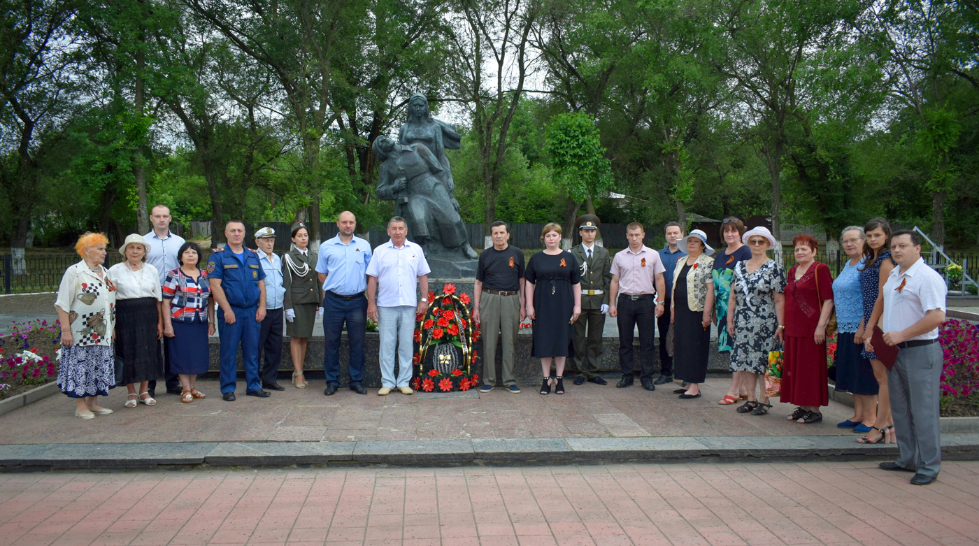 Церемония возложения цветов состоялась в Первомайске 2