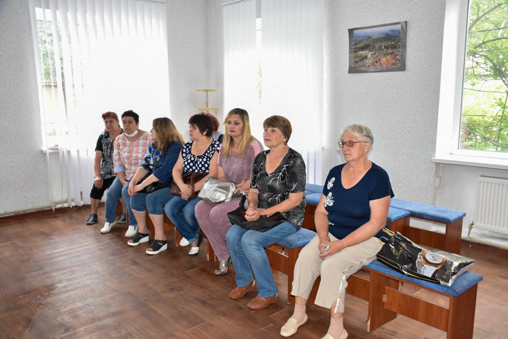 Сергей Рыбальченко провёл прием граждан в Красном Луче 2