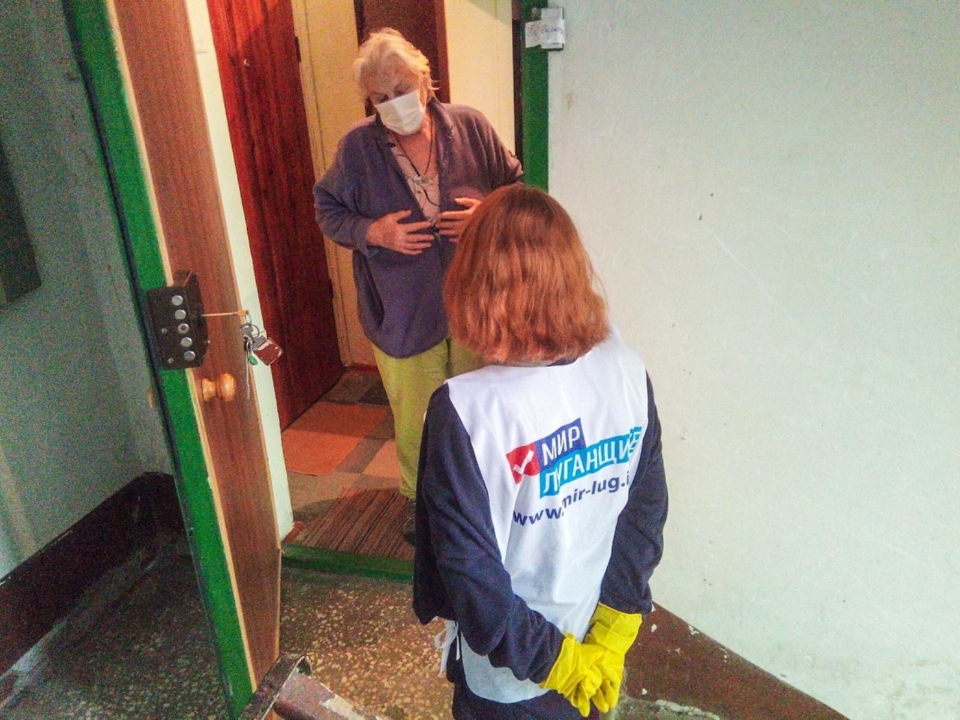 Активисты ОД «Мир Луганщине» за неделю помогли 70 жителям ЛНР 1