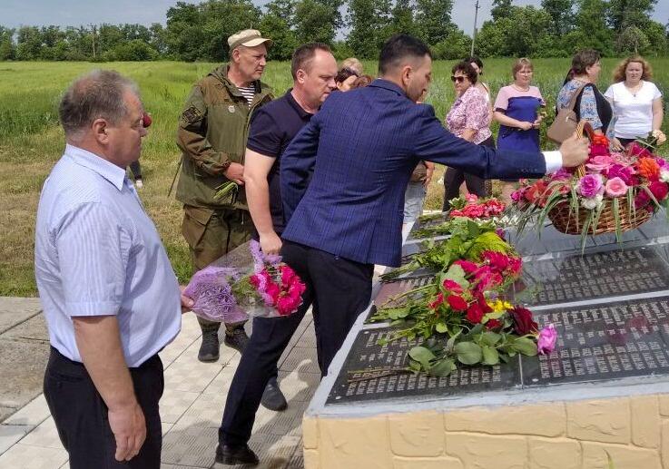 В посёлке Чернухино состоялась передача копии Знамени 112-й Башкирской кавалерийской дивизии