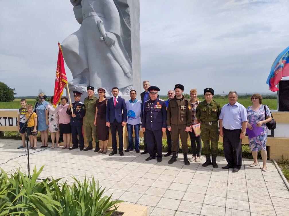 В посёлке Чернухино состоялась передача копии Знамени 112-й Башкирской кавалерийской дивизии 1