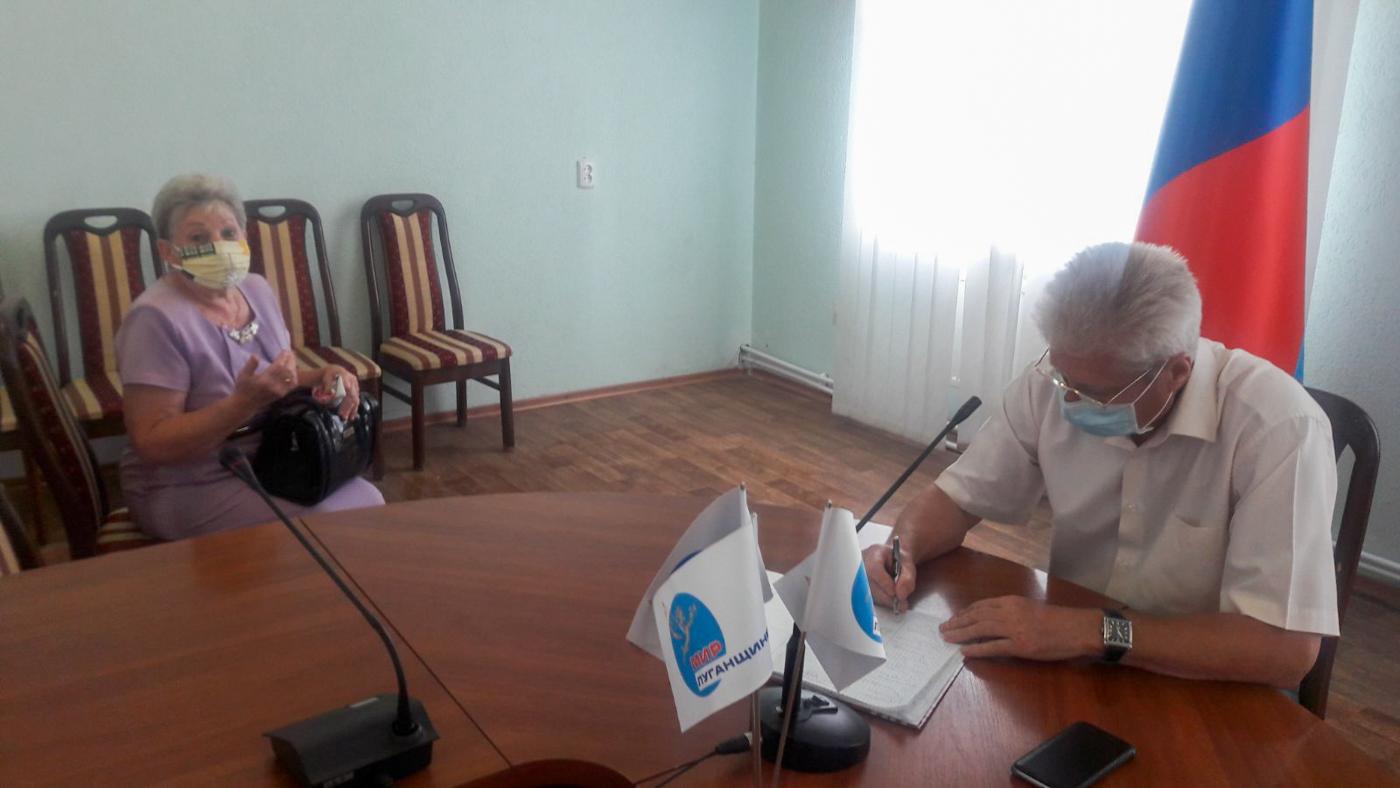 Сергей Козенко провёл личный приём жителей Краснодона