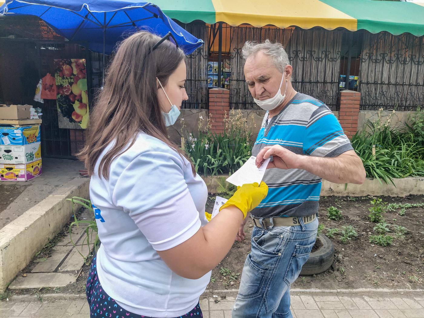 В Перевальске жителям города напомнили об акции «Стоп наркотикам!»