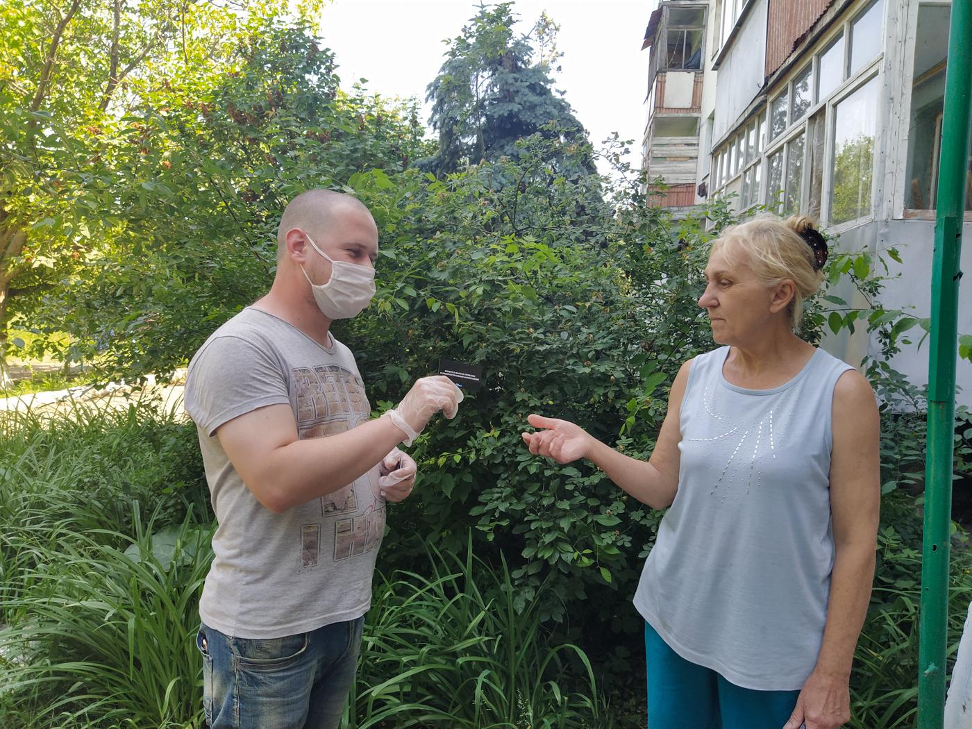 Жителям Славяносербска рассказали об акции «Стоп наркотикам!» 3