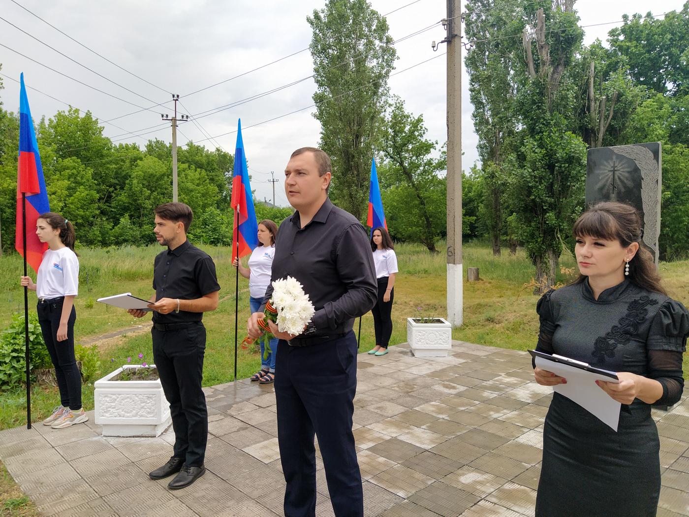 В Перевальске прошёл митинг-реквием, посвящённый Дню памяти и скорби