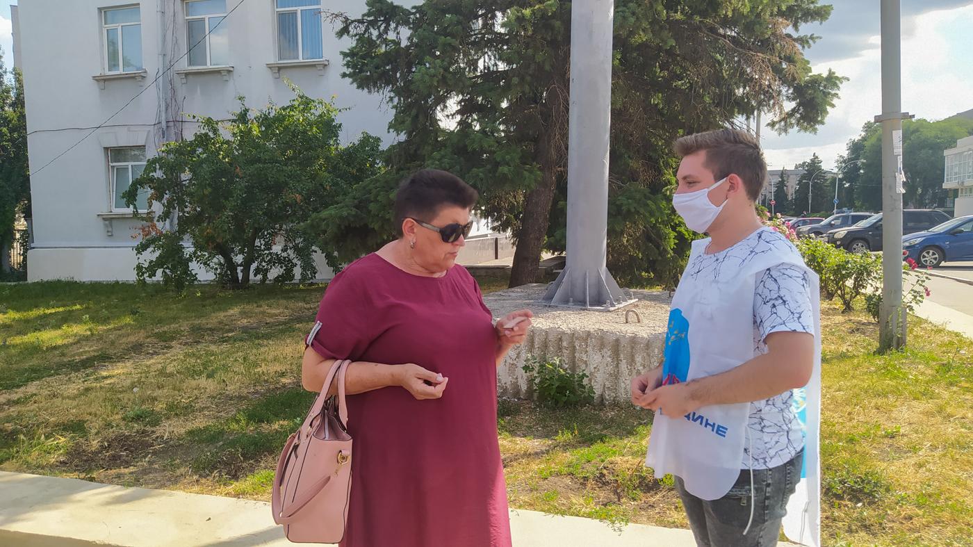 Краснодонцев проинформировали об акции «Стоп наркотикам!» 2